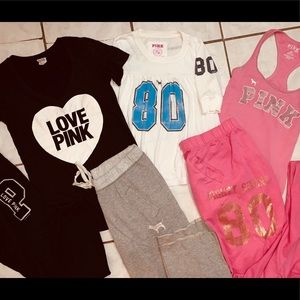 Pink Bundle Good Condition Size Xsmall